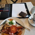 They weren't joking about the size of the big breakfast or the large coffee! Huge, and really, r