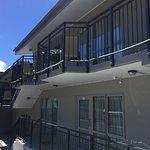 Balcony access for next level