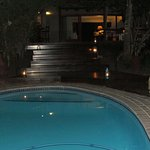 Pool at night - Serenity in beauty!