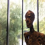 a Giacometti as part of the constant exhibition