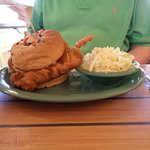fried grouper large portion