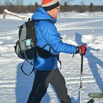Using the great snowshoes !