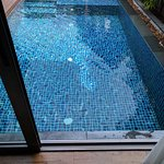 Direct access to pool from bedroom