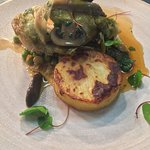 Chicken Wild Mushroom and Fondant Potato