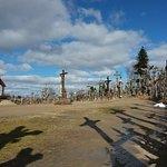 Berg der Kreuze Šiauliai Foto