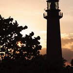 Jupiter Inlet Lighthouse from the nature walk