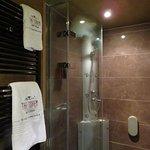 Tricky shower!