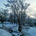 Braeside Inn in Winter