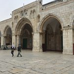 The Al-Aqsa mosque on the Temple Mount