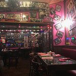 inside bubble room restaurant