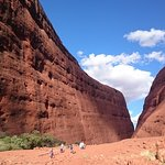 Photo of Ayers Rock and the Olgas