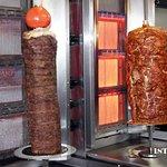 Beef and lamb doner (shawarma) and chicken doner (shawarma)