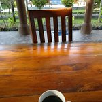 a view from the first cup of coffee
