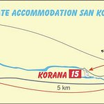 Direction map on hot to find us