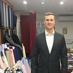 Cashmere wool suit