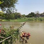 vue sur la rivière Ping, (chambre 102 RDC)