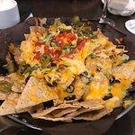 That full plate? That's a HALF portion of nachos, be warned! ;)