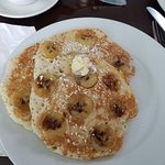 The best banana pancakes...
