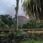 Evening photo of Arenal Volcano