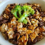 Chicken and Steak Rice Bowl