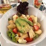 their wonderful salads