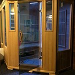 New Sauna in the Fitness Room