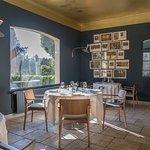 Salle du restaurant La Cabro d'Or