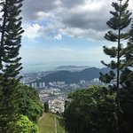 View from the peak of Penang Hill