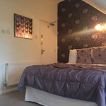 Double room within larger family suite