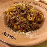 Housemade fettucine with ragu/bolognese
