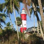 Leuchtturm nun wieder geöffnet  Schöne Aussicht auf den Strand  Eintritt 50 Rupies