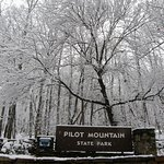 Regardless of the season, Pilot Mountain displays nature's beauty.
