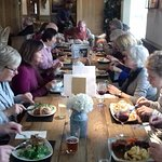 Lunch for our walking group of 18. Great food. Well presented. Good value.