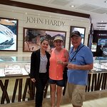 Liz, our sales consultant helping us with a John Hardy bracelet