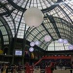 La piste, au centre du Grand Palais