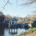 Gazebo and small pond are a lovely part of the park.