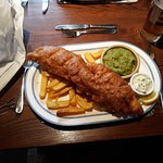 Enormous traditional Fish & chips