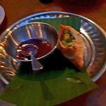 Vegetable Samosa with Tamarind Sauce