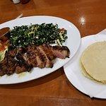 Ribeye Taco with Kale Slaw.