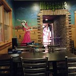 Bar entry area
