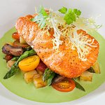 A world of food awaits at Grand Lux Cafe featuring internationally inspired cuisine.