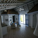 Main living room, Gauguin Suite
