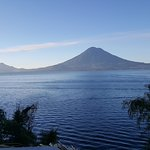 The Lake Atitlan is the only means of transport.