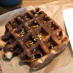 Mazarine waffle