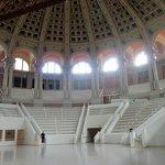 The oval hall