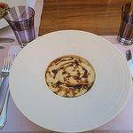 First course at the Italian restaurant - mushroom heaven!!