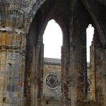 ruins with star of David visible