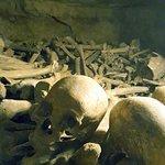 ossadas nas Catacumbas