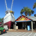 """the good ship """"Flounder"""", along with the sushi bar"""