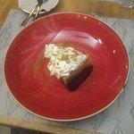 Tarta de queso con té matcha